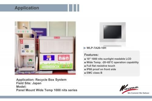 "WLP-7B20 Atom® 15"" Wide Temp 1000 nits"