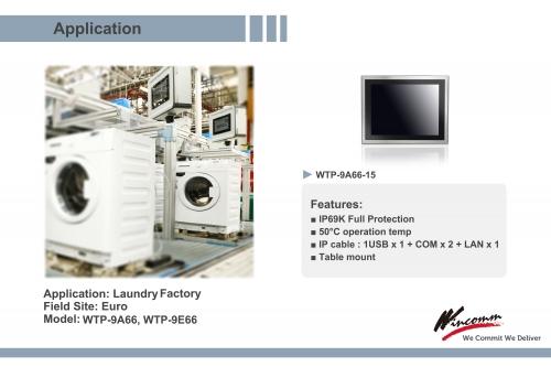 """WTP-8B66 Celeron J1900 19"""""""